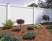 Vinyl Fence Lexington White