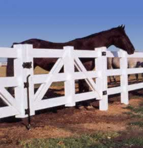 Horse Gates Bufftech Post Rail