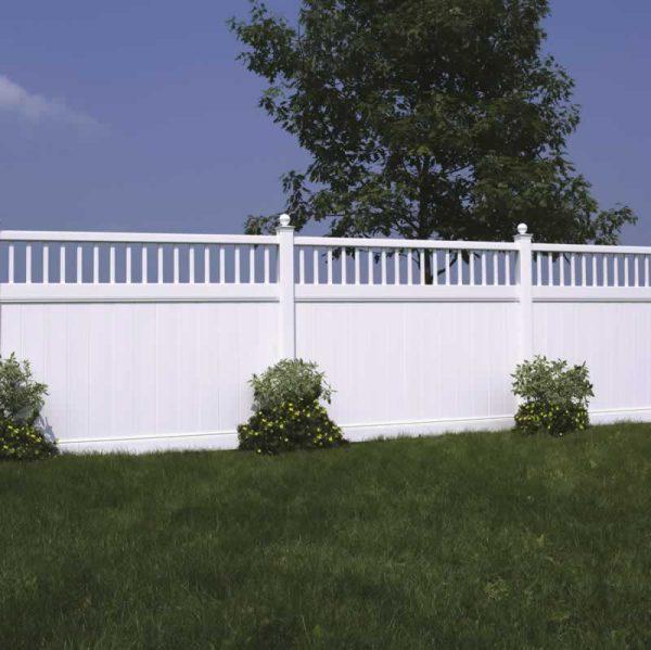 Semi Private Fencing White Victorian