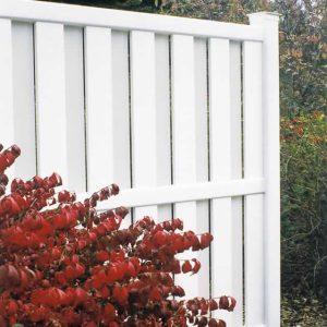 Columbia White Fence
