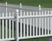 Danbury Picket Fencing