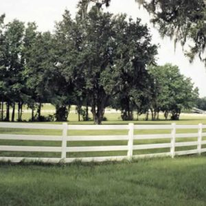 Horse Fence Ranch Fence 4 Rail
