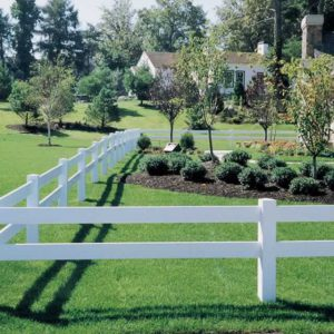 2 Rail Horse Fence