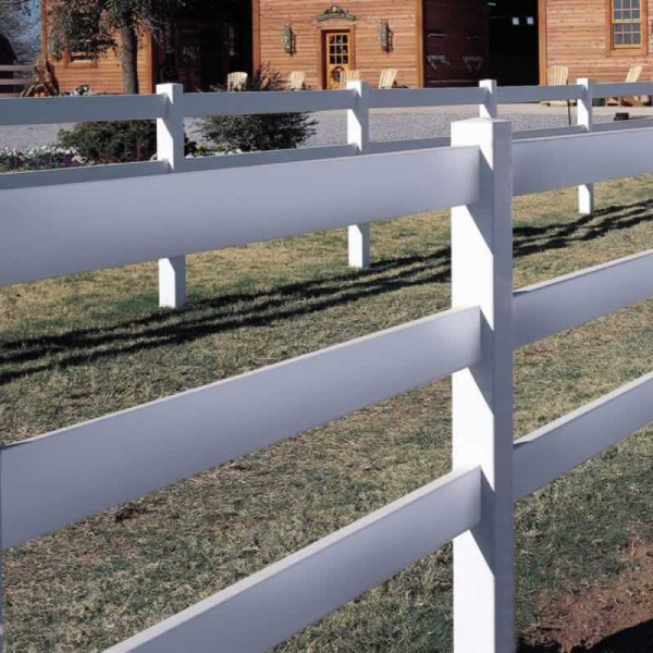 Standard 3 Rail Horse Fence