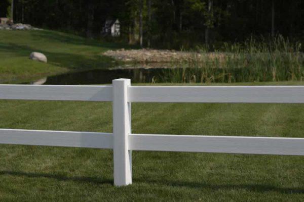 2 Rail Ranch Fence