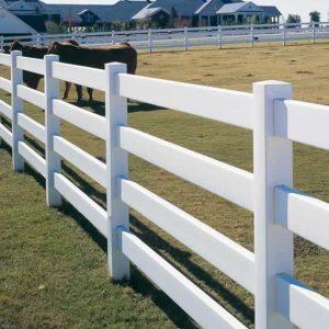 4 Rail Ranch Fence