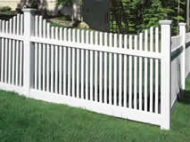 Privacy Fencing White Classic