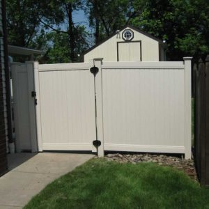 Lexington Vinyl Privacy Fence Gates